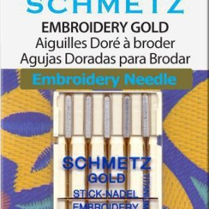 Schmetz Borduurnaalden GOLD dikte 75