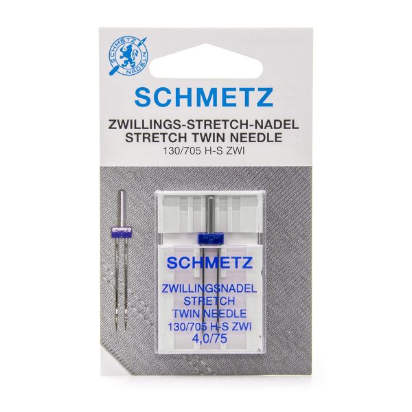 Schmetz Stretch Twin 4,0mm