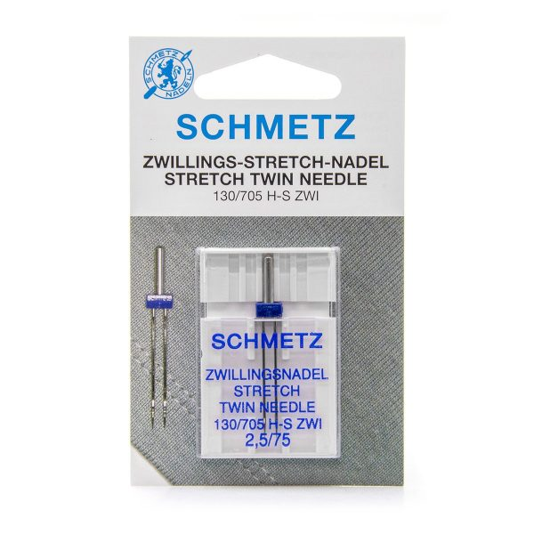 Schmetz Stretch Twin 2.5mm