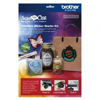 Brother ScanNcut Printbare Sticker Starterkit