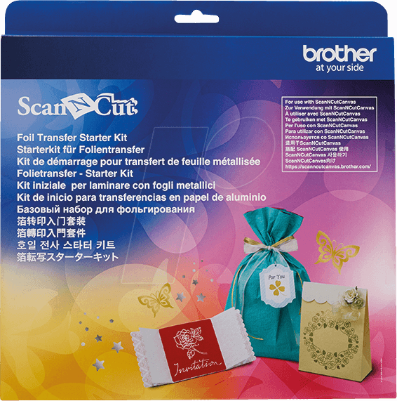Brother ScanNcut Folietransfer Starter Kit