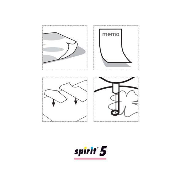 Spirit 5 500ml - Lijmspray