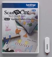 Brother ScanNcut NR.2 Applicatie patronen