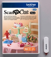 Brother ScanNcut NR.4 3D Papiermodellen collectie