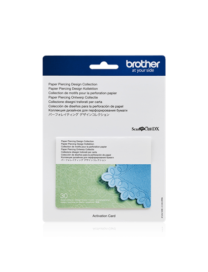 Brother ScanNcut DX Paper Piercing Collectie