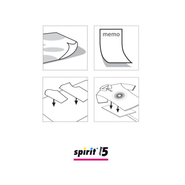 Spirit 5 STRONG 500ml - Lijmspray