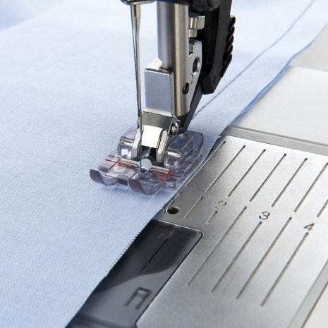 """Pfaff Transparante 1/4"""" quilt- en patchworkvoet 820883096"""