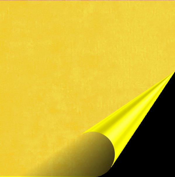 Flock Premium - Yellow - 500mm x 100mm