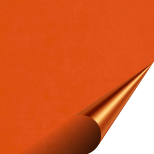 Flock Premium - Fluo Orange - 500mm x 100mm
