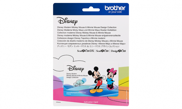 Brother ScanNcut Modern Mickey Mouse & Minnie Mouse Collectie 10